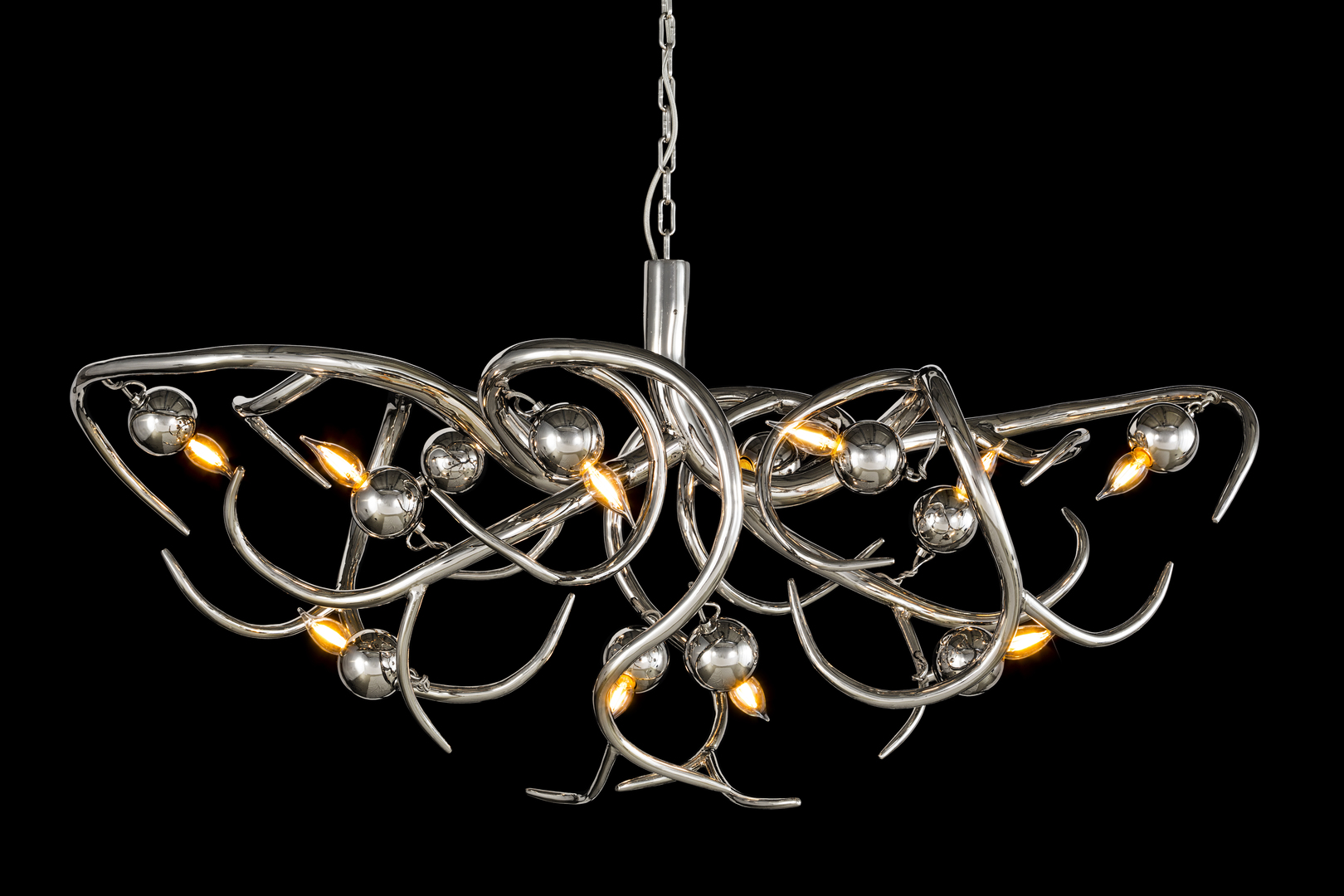 brandvanegmond_eve_chandelier_oval_copper finish_EVEOC140N_studio_blackbackground.jpg
