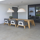2020 Borek Teak Hybrid low dining chair, backless bench & table Frans van Rens.jpg