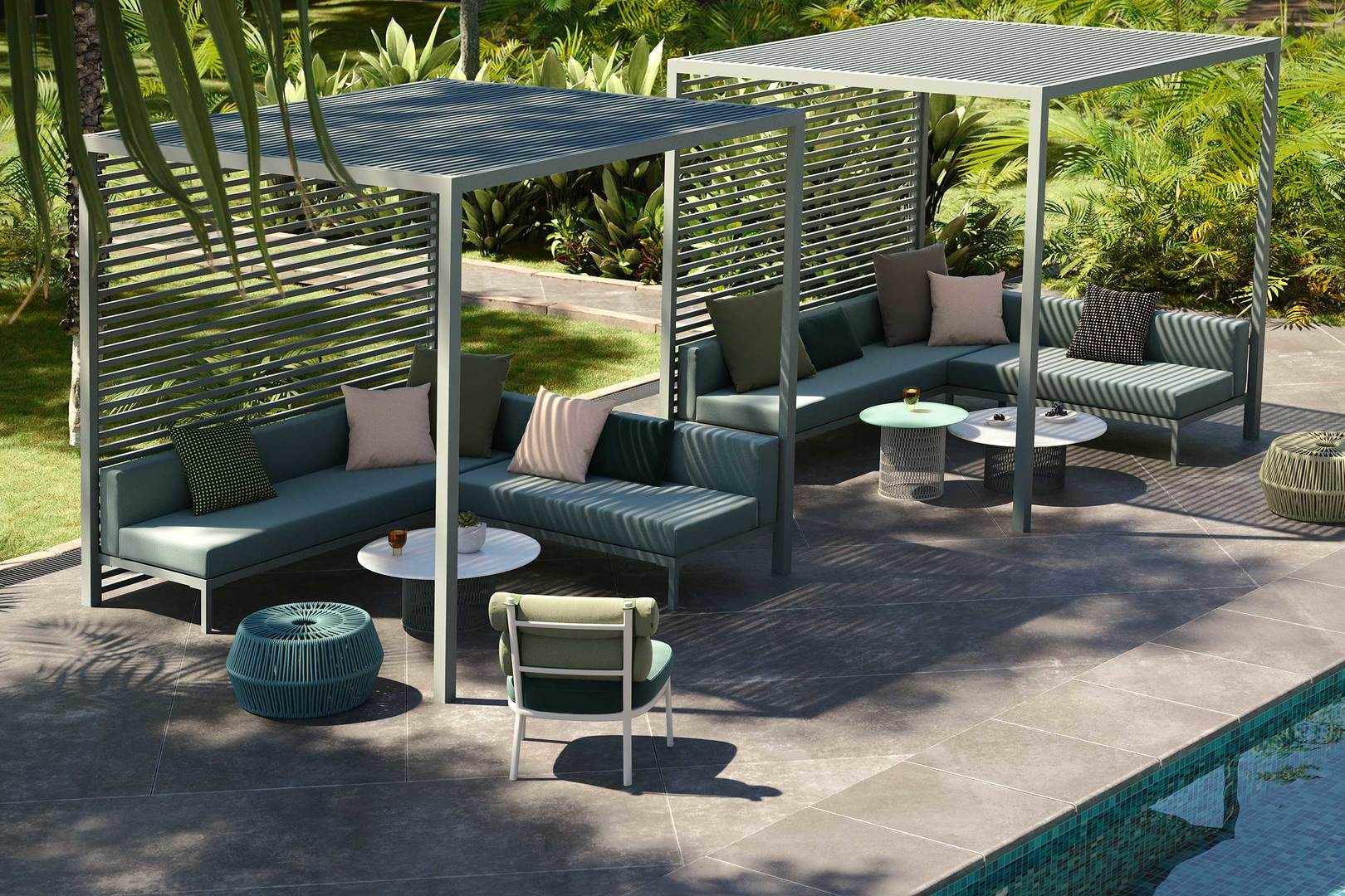 Kettal Lounge Pavilion corner bench Hora Barneveld 1.jpg