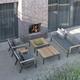 Borek teak Merano lounge chair, sofa and coffee table.jpg