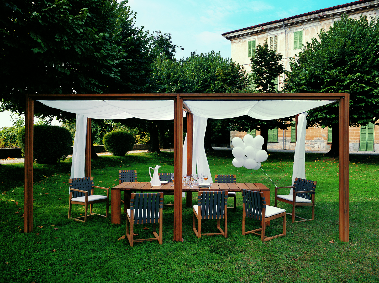 OASIS gazebo with extension_PIER table_NW chiars.jpg