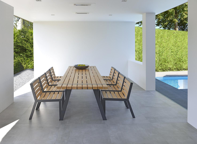 2017 Borek teak alu Twisk table and chair without armrests by Bertram Beerbaum (2).jpg