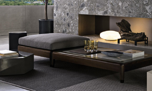 Minotti outdoor carpets
