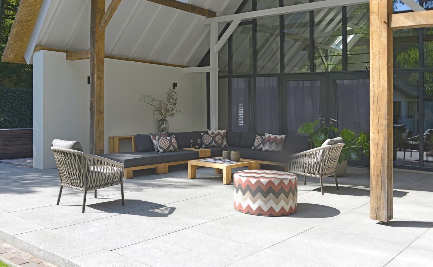 2020 Borek Reclaimed teak Cadiz lounge & coffee table, Sevilla side table Studio Borek- Borek Ardenza bel Majinto lounge chair - Prato Desio pouffe Ateca.jpg