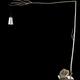 brandvanegmond_flintstone 190_floorlight_nickel finish_product_blackbackground_1.jpg