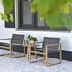 2020 Borek Teak Urbino low dining chair & Lasize side table Studio Borek.jpg