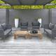2018 Borek rope Valldemossa lounge chair & sofa - teak Cadiz coffee table Studio Borek .jpg