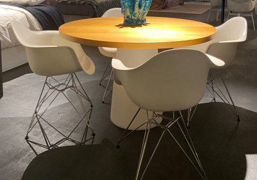 HORA table + Vitra Eames chairs