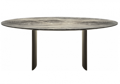 Linha dining table round marble