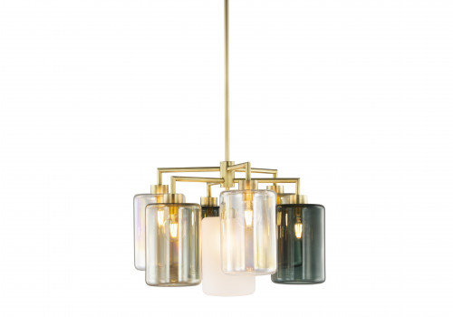 Louise chandelier round 7 lanterns