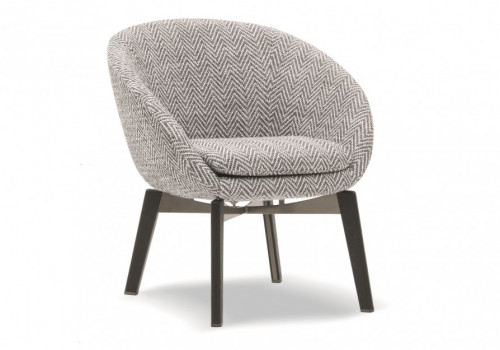 Peachy Russell Lounge Little Armchair Fixed Hora Caraccident5 Cool Chair Designs And Ideas Caraccident5Info