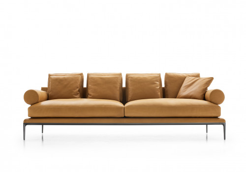 Atoll sofa with 4 back cushions