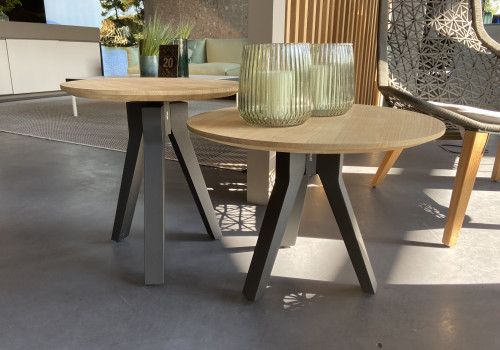 Vieques small tables set