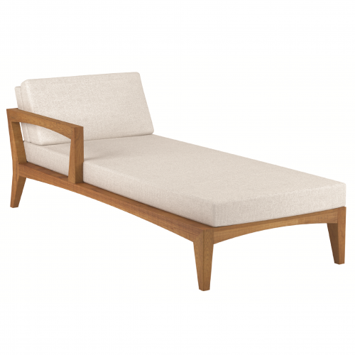 Zenhit lounge right arm daybed module
