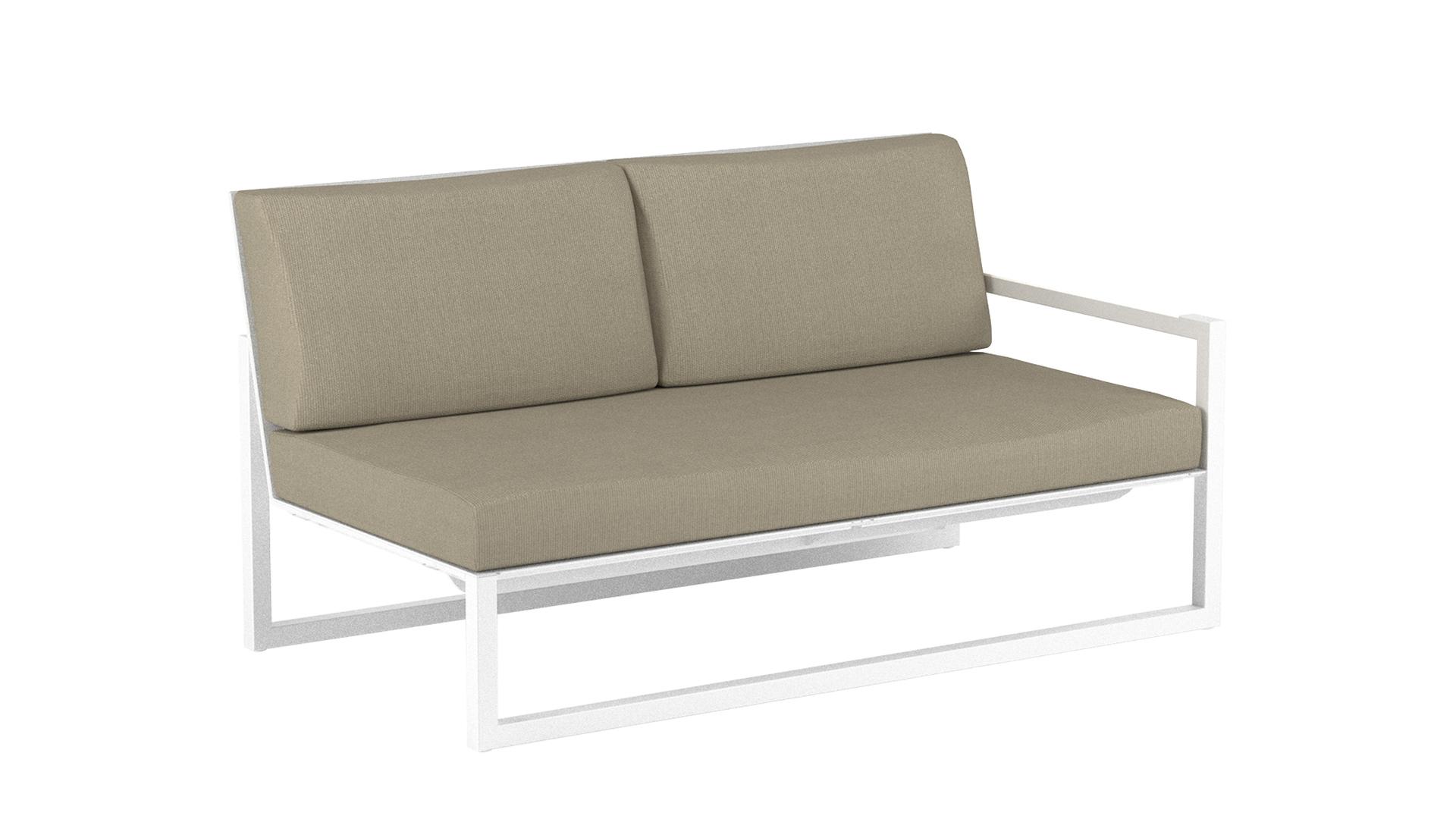 Ninix lounge 160 left arm white royal botania.jpg