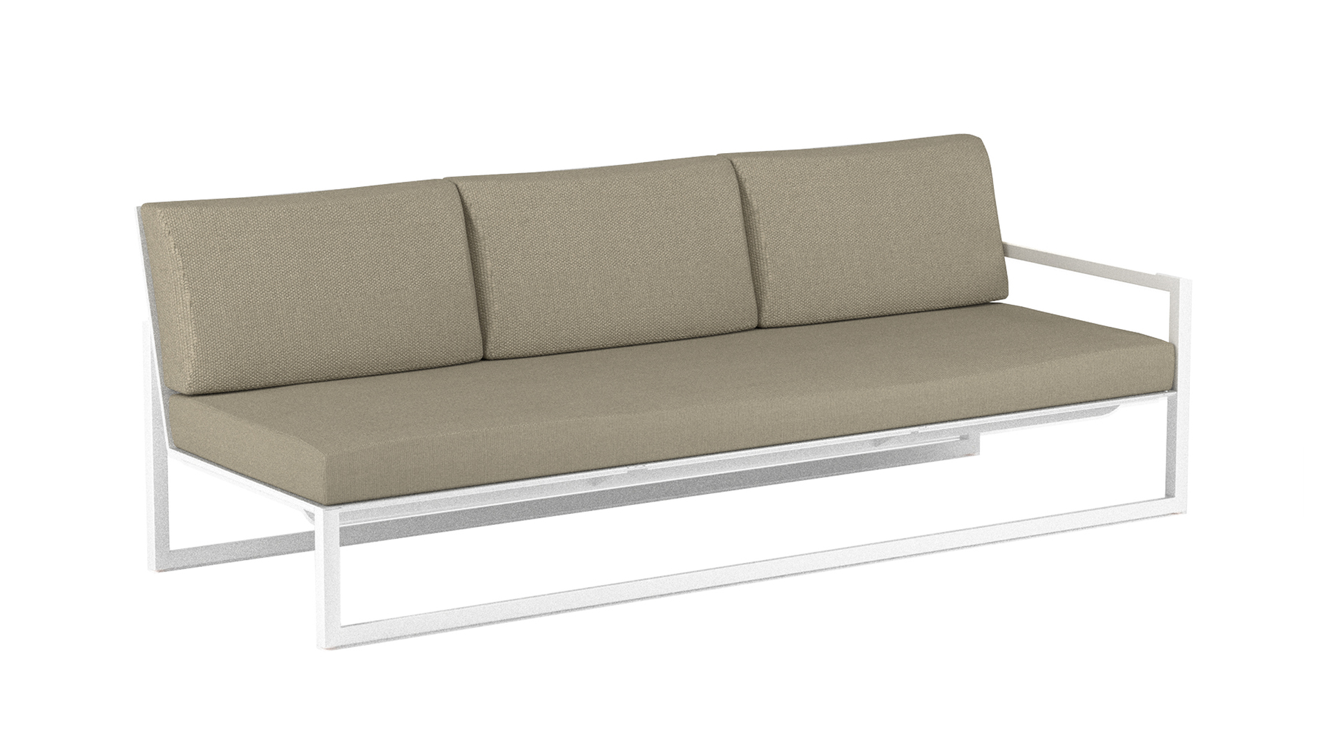 Ninix lounge 240 left arm white royal botanai.jpg