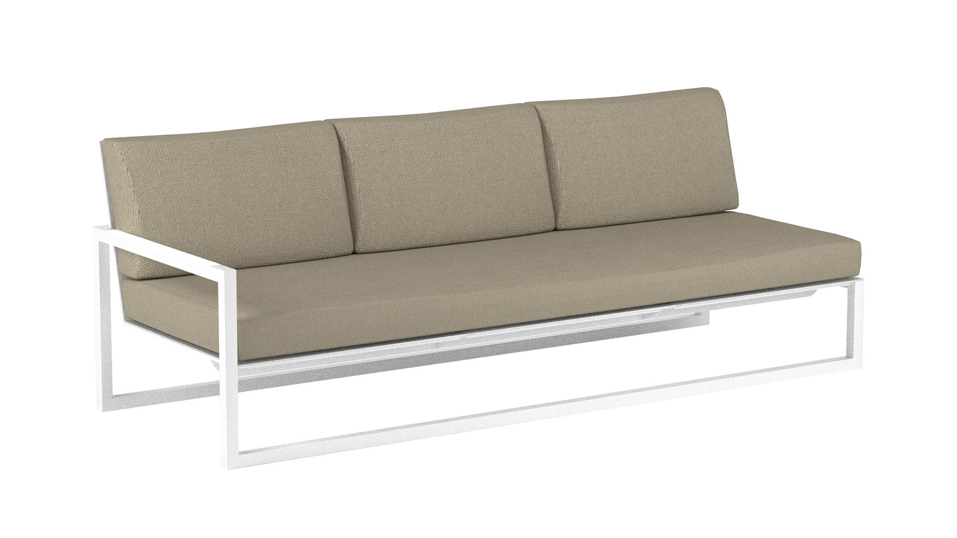 Ninix lounge 240 right arm royal botania white.jpg
