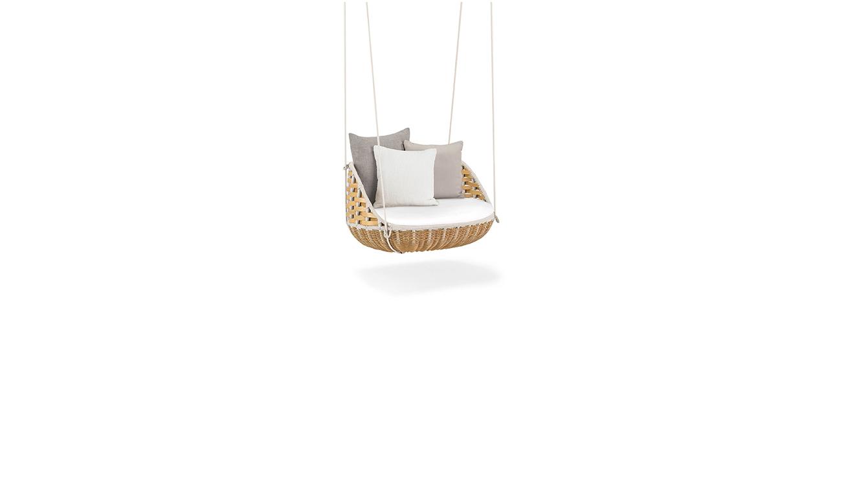 Admirable Dedon Swingrest Swingme Lounge Chair Short Links Chair Design For Home Short Linksinfo