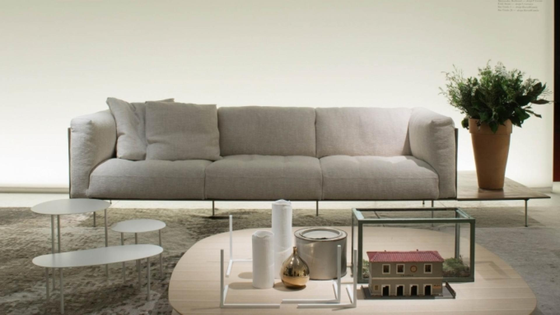 Rod 4-Seater sofa 240 cm